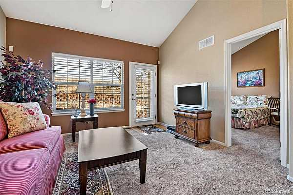 Photo #8 Great room with soaring vaulted ceilings with tons of light and volume