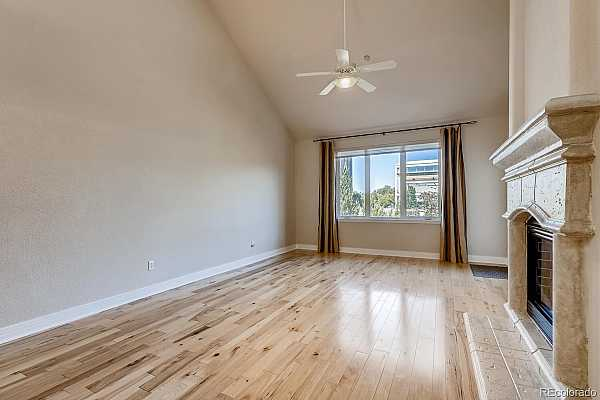 Photo #12 Beautiful hickory flooring makes decorating your new living room so fun! Easy to transition from one style of decor to another!
