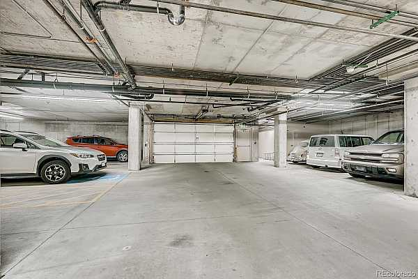 Photo #32 2 assigned parking places, #3 and #22.  Comfortable, ventilated, secure under the building parking.